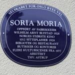 "Soria Moria hedret til 90-årsdagen med ""Blått skilt"""